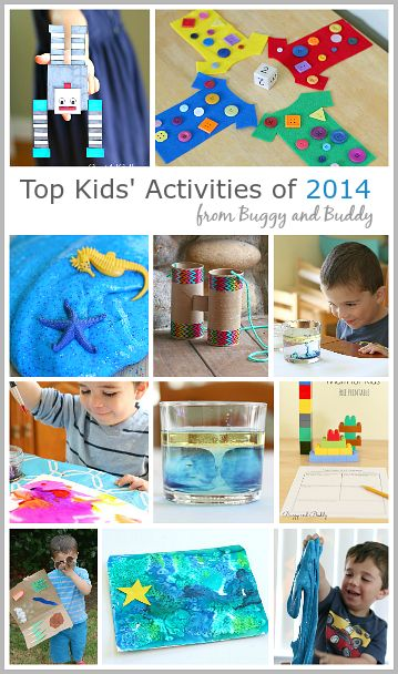 Top 10 Activities for Kids from 2014 on BuggyandBuddy.com