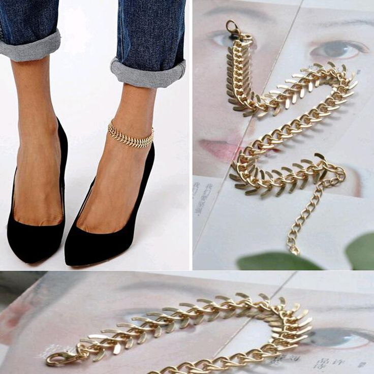 17 Best ideas about Anklet Bracelet on Pinterest