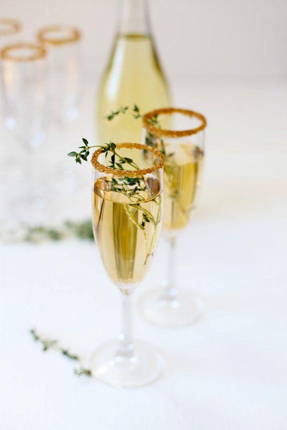 Festive - Gold Cocktail Rimming Sugar