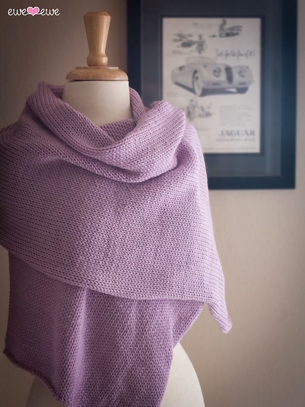 Radiant Wrap By Heather Walpole - Free Knitted Pattern - (ravelry)
