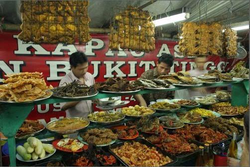 culiner west sumatra, indonesia