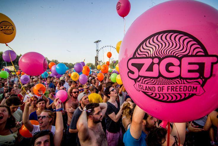 SZIGET Festival Budapest.