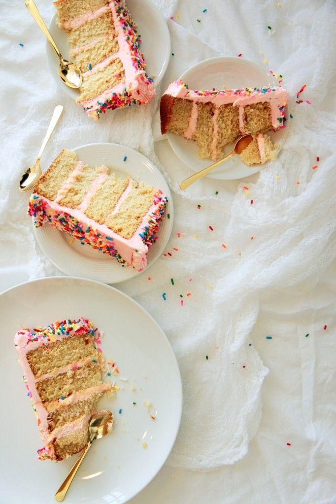 malted milk birthday cake