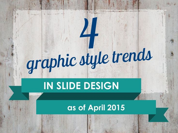 Trends in slide design 2015 Flat Retro Watercolor Hand drawn by infoDiagram Peter via slideshare