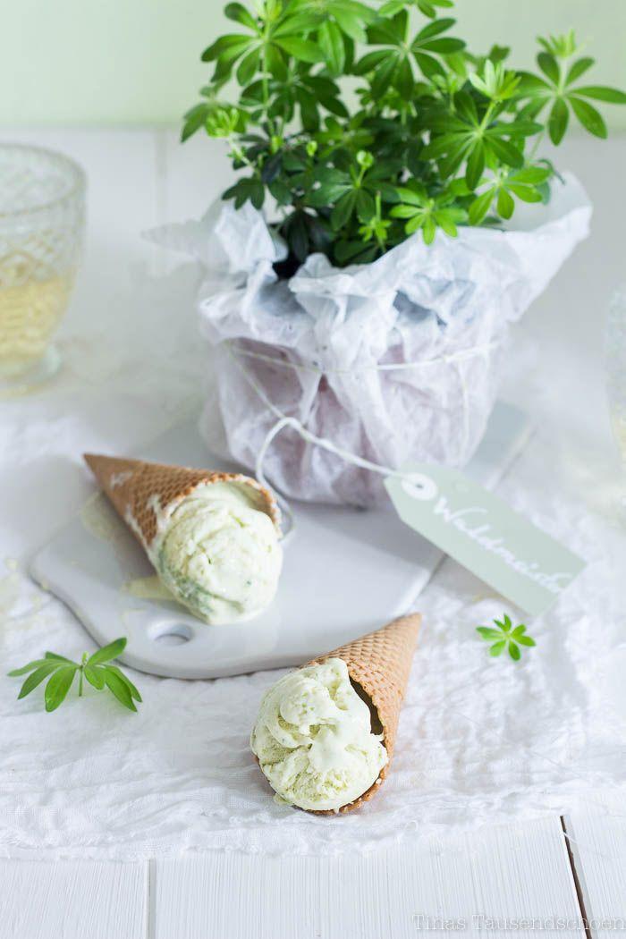 ... asperula (woodruff) ice cream ...