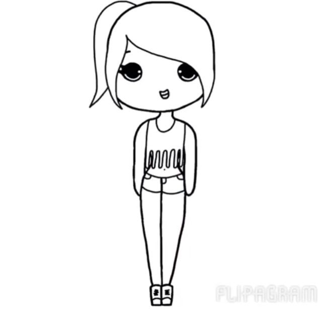 Hey everyone!! I have started drawing chibi's!! If you have one you want me to draw, send me a pin of a chibi template, and I will draw it, and color it (if you want me to)..:)