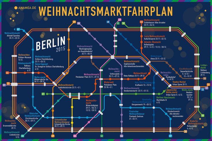 Der Berliner Weihnachtsmarktfahrplan 2015