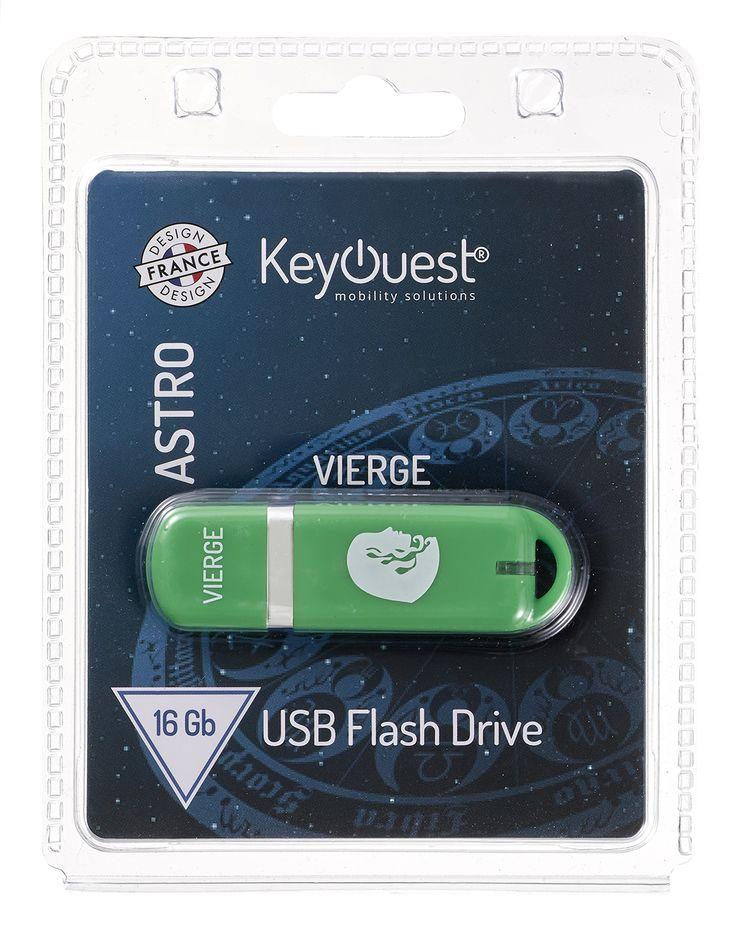 Packaging clé USB 16 Go ASTRO Vierge - KeyOuest http://www.keyouest-mobility.com/produits/cle-usb-16-gb-astro-vierge-keyouest/