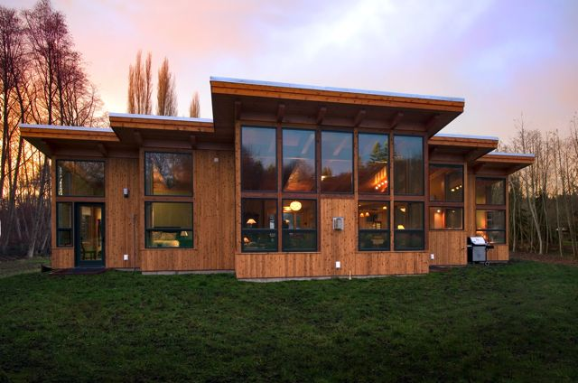 A Frame House Remodel Whidbey Island