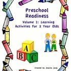 For Teachers and Parents:  This workbook of activities (Volume 1)  is designed for young preschoolers, with the target age being 2 years old. Howev...