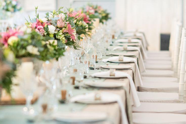 Exquisite table decor.