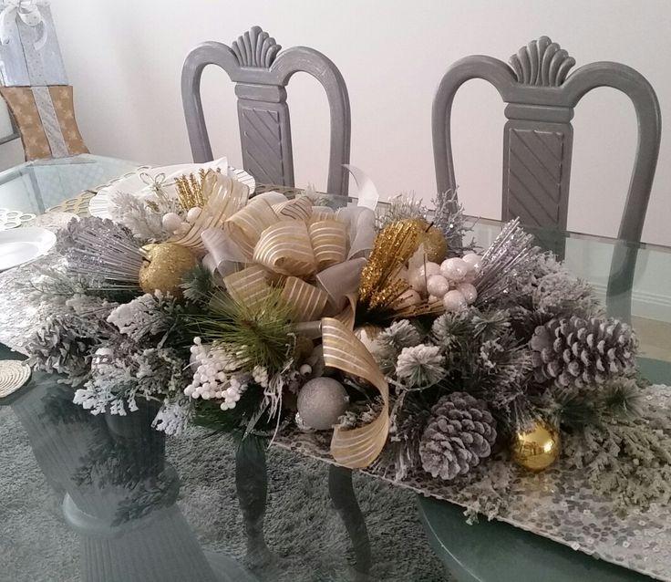 Centro de mesa navideño