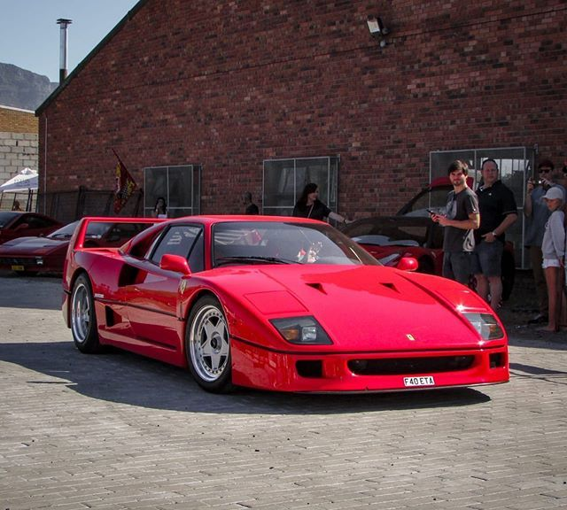 Beautiful F40 Came Out To Play In Cape Town And Rm Autospots