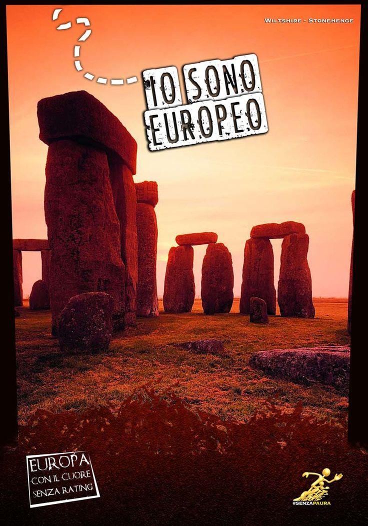 Io sono Europeo - Mostra ad Atreju 2012 - Stonehenge