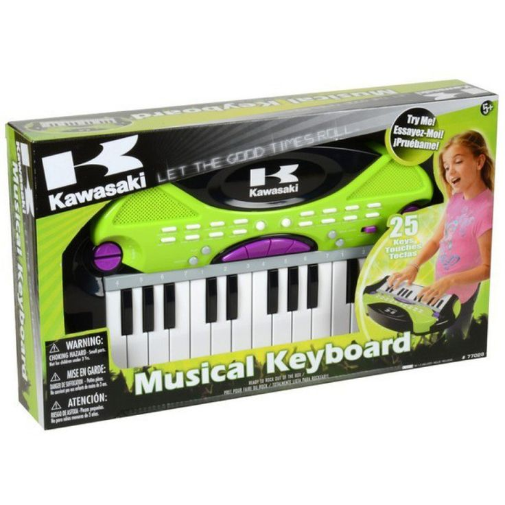 Kawasaki 25 Key Keyboard ~ On layby for Kyries 4th birthday present.. Unfortunately we cant get what she wants (Grand Piano) So hopefully she will be just as happy with this :)
