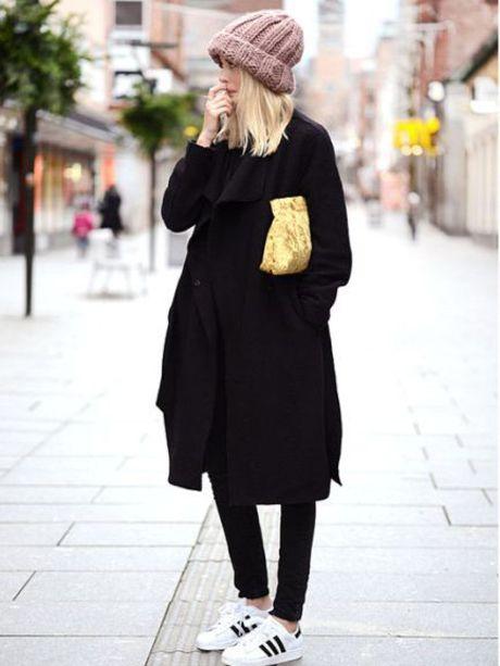 Look grand froid - Streetstyle : les 15 plus beaux looks repérés sur Pinterest - Photos Mode - Be.com