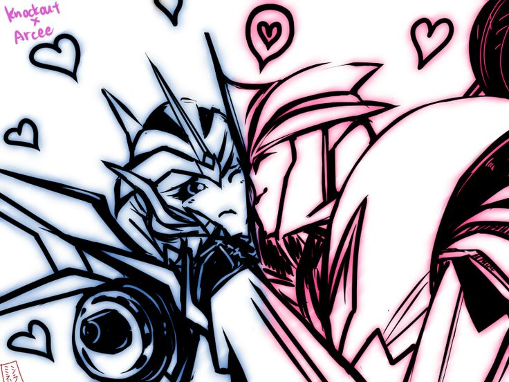 Knockout and arcee by xshiraminex.deviantart.com on ...