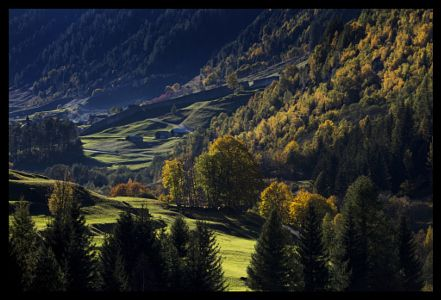 Autumn in Bedretto valley by Sabina  Lombardo