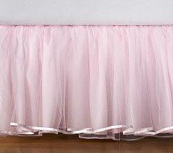 Tule bed skirt | Pottery Barn Kids
