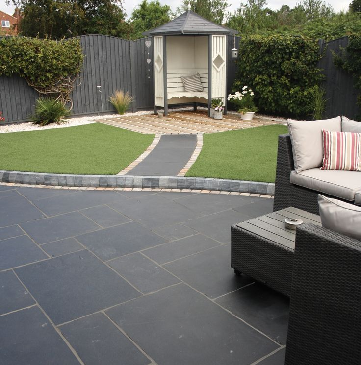 Carbon Black Limestone Flagstones | Landscaping | Patio | Garden Path | Hand cut traditional paving