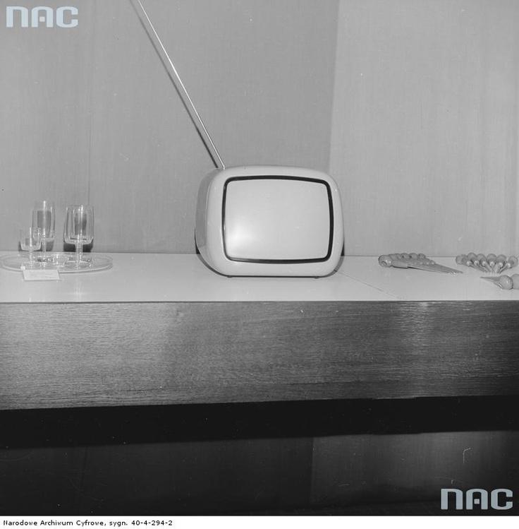 TV from Yugoslavia exhibited in Warsaw, 1967-75.