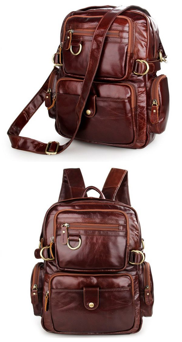 Luxury Fashion Cow Leather Travel Bag