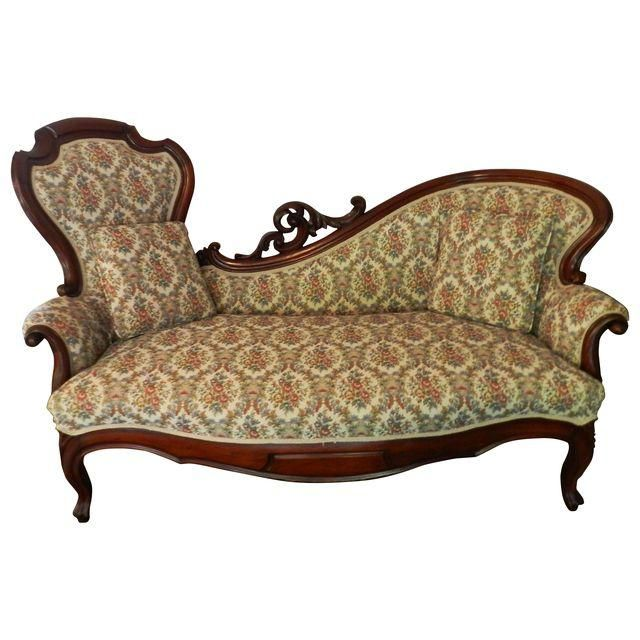 Image of 1880 Victorian Rococo Revival Lounge