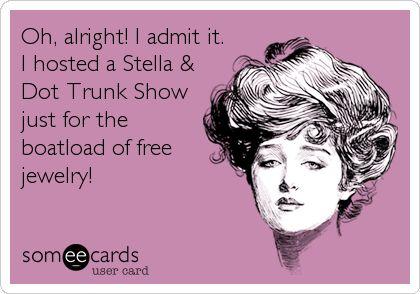 Host a Stella & Dot Trunk Show today! http://www.stelladot.com/Cecille