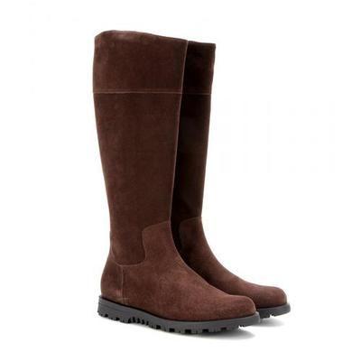 Gucci - SUEDE KNEE BOOTS #boots #gucciogucci #gucci #designer #covetme