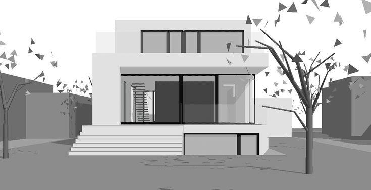 125 best modern home images on pinterest facades. Black Bedroom Furniture Sets. Home Design Ideas