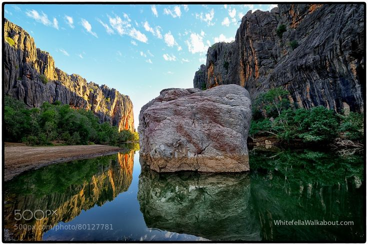 Windjana Gorge Gibb River Road Kimberleys Western Australia by whitefella-walkabout