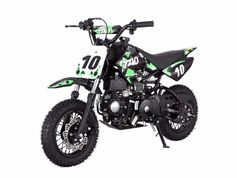 "Jet Moto Youth Size 110cc Pit -Dirt Bike - Automatic with Electric Start! Great Starter Bike with low seat height of 26"" -"