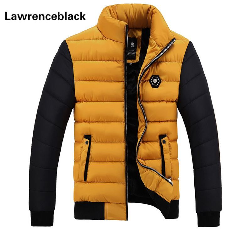Men Down Jacket Thick Warm Padded Coat 2016 Brand Parka Men Winter Jacket Fashion Quality Down Parka Solid Cotton Coat Male 85