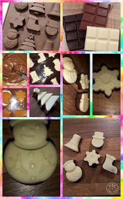 Lekker en leuk!: Kerstchocolaatjes