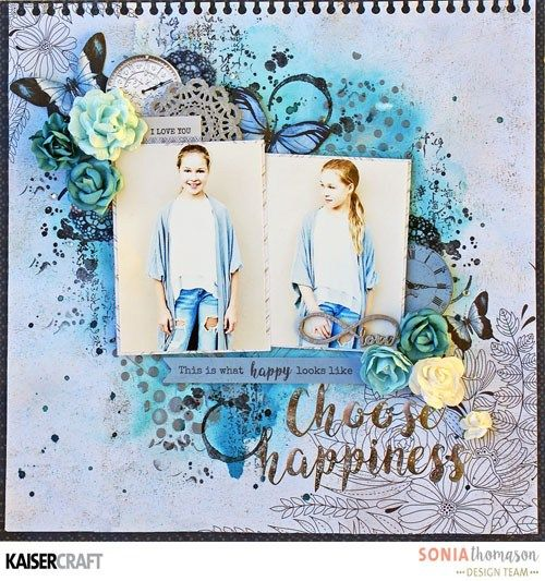 Group Post Featuring Textured Stamps - Kaisercraft Official Blog