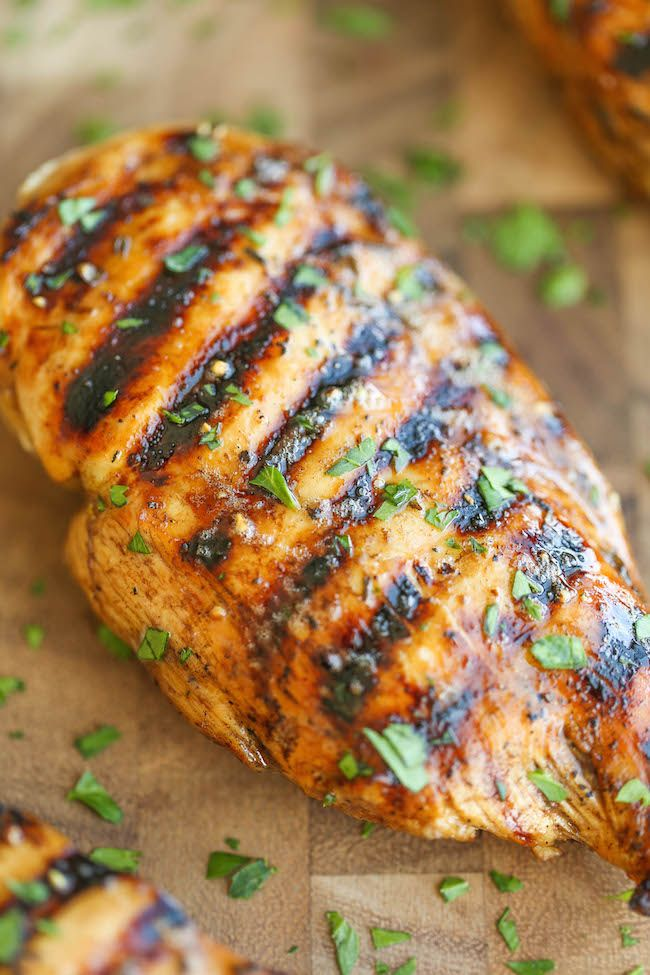 Jul 23,  · The BEST BBQ Chicken Marinade ~ This Quick and Easy Chicken Marinade Will Soon Be Your Favorite! The BBQ Marinade Produces So Much Flavor, is the Perfect Amount of Sweet and Tangy and Keeps Your Grilled Chicken Moist and Delicious!Cuisine: American.