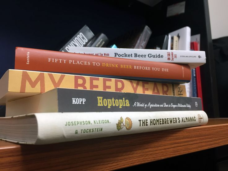New beer books and what they're for