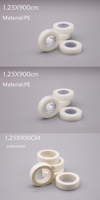 [Visit to Buy] 6rolls Professional Under Tape False EyeLashes Extentions Tools Eyelash Extension Supply Micropore polyethylene Medical Tape #Advertisement