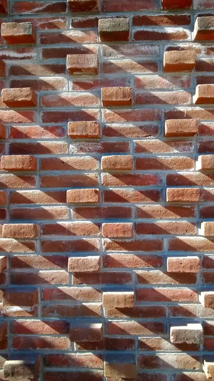 Despiece de fachada sur, ladrillo armado aparente @Michael Atkins Rock, Baja, Mx, fabriKG