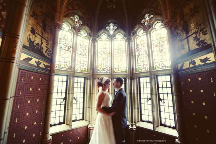 At the beautiful Cardiff Castle C. Maria Farrelly Photography