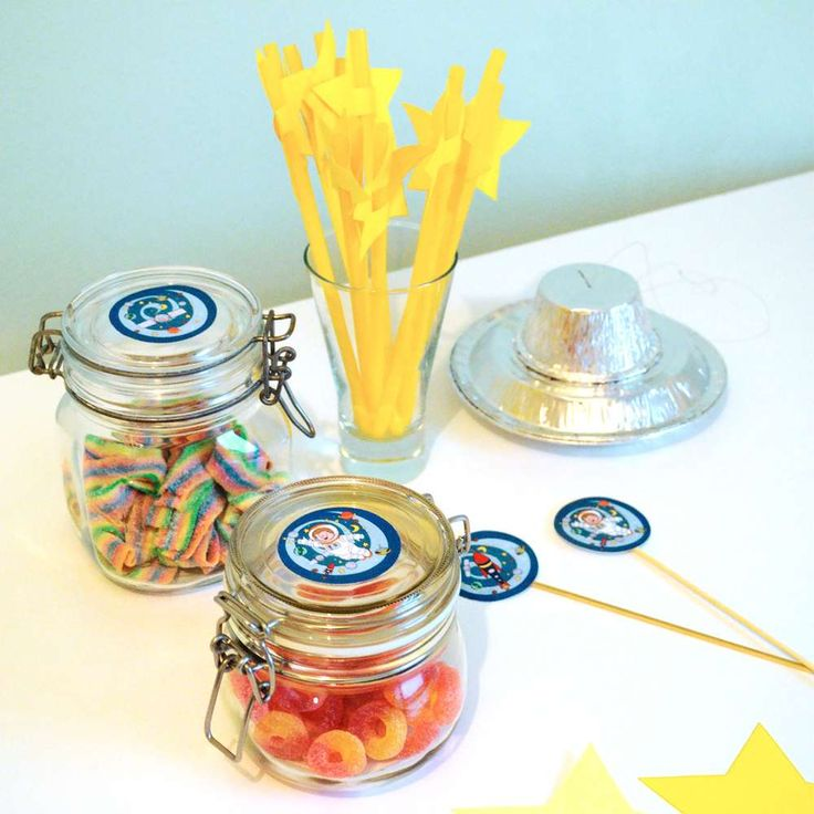 Astronaut / Outer Space Birthday Party Ideas | Photo 2 of 12