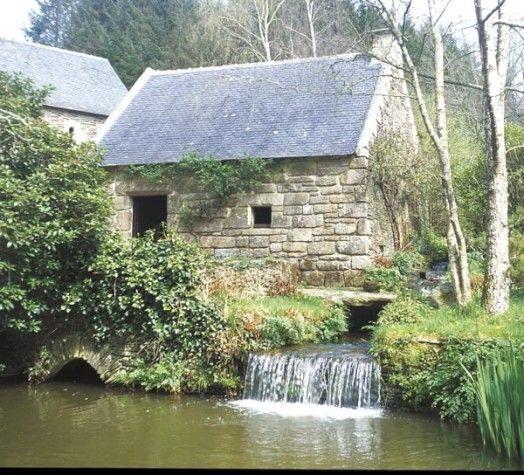 Moulin, Landrévarzec, Finistère, Bretagne