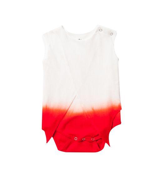 OM143 Dip-dye coral onesie.jpg