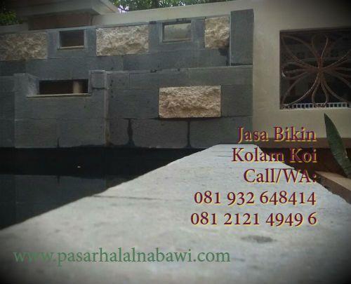 Jasa Bikin Kolam Koi
