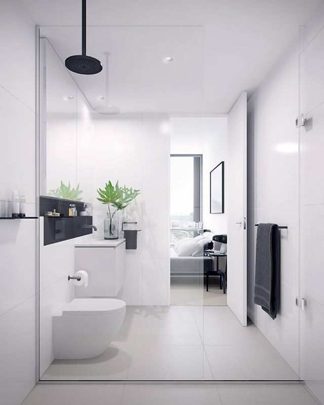 // THIS elegant little number by Melbourne's @hassell_studio ;) Team DS. #designstuff #bathroom #bathroominspiration #bathroominspo…