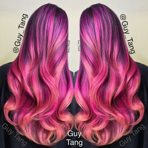 78 Best Images About Pink Amp Purple Hair 3 On Pinterest