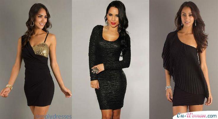 Новые тенденции моды вечернее черное маленькое платье