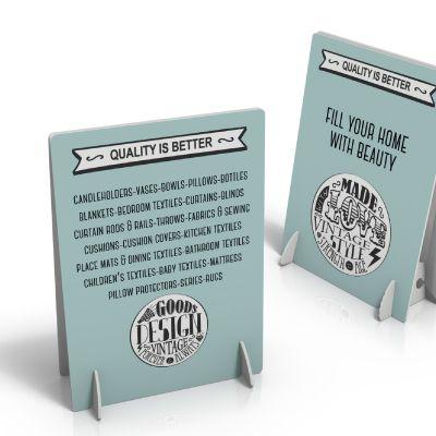 Réalisez votre présentoir magasin en carton complètement personnalisé et recevez-le en 48 heures dès maintenent
