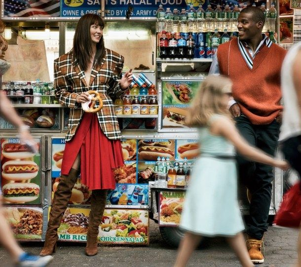VOGUE MAGAZINE Karlie Kloss & Cam Newton by Gregory Harris. Sara Moonves, October 2016, www.imageamplified.com, Image Amplified3