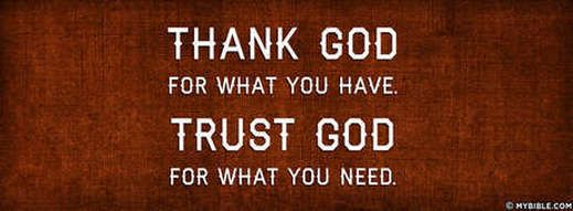 Thanksking, Trust and Treasure